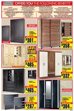 Wardrobe offers in the Lewis catalogue in Klerksdorp