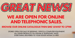 Lewis coupon in Cape Town ( Published today )