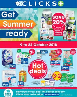 Beauty & Health offers in the Clicks catalogue in Johannesburg