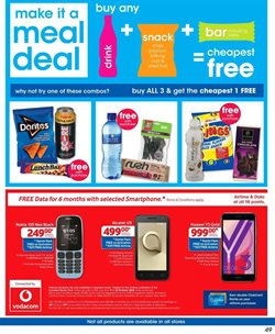 Smartphones offers in the Clicks catalogue in Cape Town