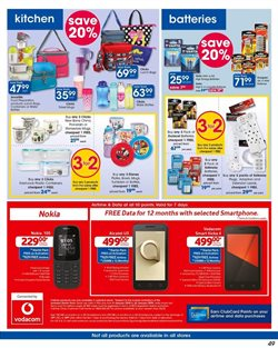 Kitchen offers in the Clicks catalogue in Cape Town