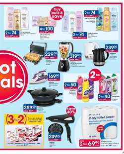 Pharmacy offers in the Clicks catalogue in Cape Town