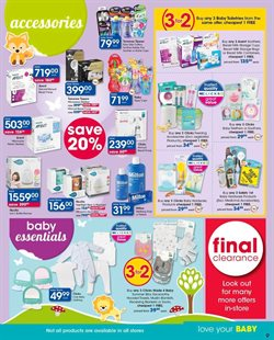Baby offers in the Clicks catalogue in Cape Town