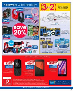 Phones offers in the Clicks catalogue in Cape Town