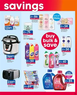 Bleach offers in the Clicks catalogue in Cape Town