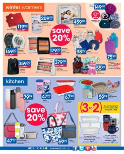 Bed offers in the Clicks catalogue in Cape Town