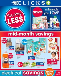 Beauty & Pharmacy offers in the Clicks catalogue in Cape Town