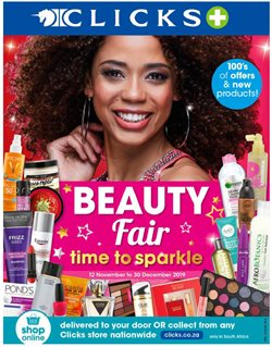 Beauty & Pharmacy offers in the Clicks catalogue in Port Elizabeth