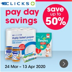 Clicks catalogue in Pretoria ( 3 days ago )