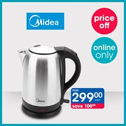 Kettle specials in Clicks