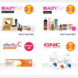 Beauty & Pharmacy offers in the Clicks catalogue ( 8 days left )
