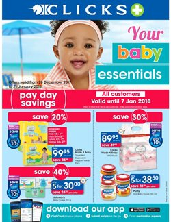 Beauty & Health offers in the Clicks catalogue in Cape Town