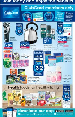 EBook offers in the Clicks catalogue in Cape Town
