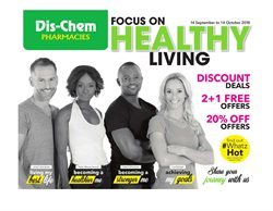 Beauty & Health offers in the Dis-Chem catalogue in Rustenburg