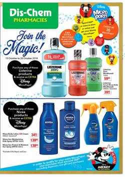 Beauty & Health offers in the Dis-Chem catalogue in Johannesburg