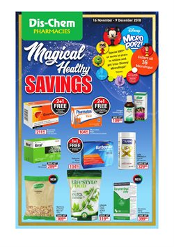 Beauty & Health offers in the Dis-Chem catalogue in Randburg