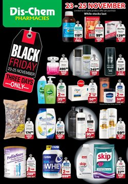 Black Friday offers in the Dis-Chem catalogue in Cape Town
