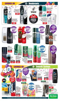 Gel nails offers in the Dis-Chem catalogue in Cape Town