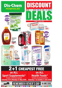 Dis-Chem deals in the Johannesburg special
