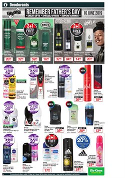 Deodorant offers in the Dis-Chem catalogue in Cape Town