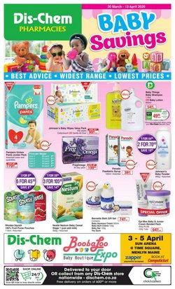 Beauty & Pharmacy offers in the Dis-Chem catalogue in Port Elizabeth ( 4 days left )