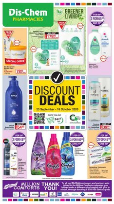 Beauty & Pharmacy offers in the Dis-Chem catalogue in Cape Town ( 19 days left )