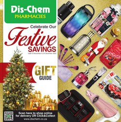 Beauty & Pharmacy offers in the Dis-Chem catalogue ( 23 days left)