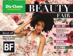 Beauty & Pharmacy offers in the Dis-Chem catalogue in Johannesburg ( 2 days ago )