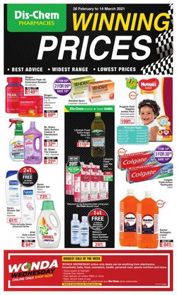 Beauty & Pharmacy offers in the Dis-Chem catalogue in Johannesburg ( Published today )