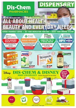 Beauty & Pharmacy offers in the Dis-Chem catalogue ( 21 days left)