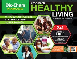 Beauty & Pharmacy offers in the Dis-Chem catalogue ( 22 days left)