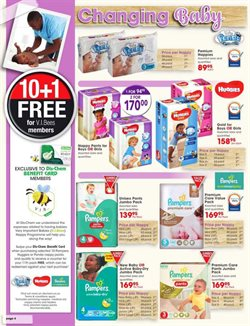 Diapers offers in the Dis-Chem catalogue in Cape Town