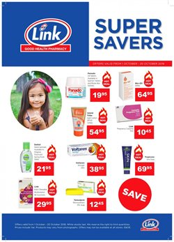 Beauty & Health offers in the Link Pharmacy catalogue in Johannesburg