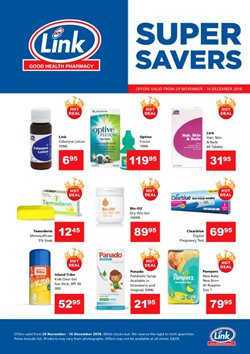 Beauty & Health offers in the Link Pharmacy catalogue in Cape Town