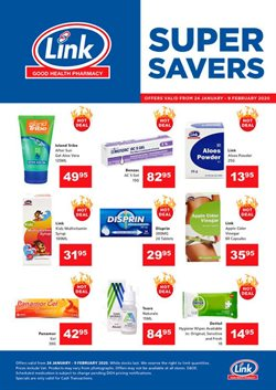 Beauty & Pharmacy offers in the Link Pharmacy catalogue in Soweto