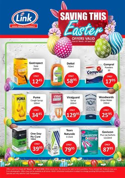 Beauty & Pharmacy offers in the Link Pharmacy catalogue in Cape Town ( 12 days left )
