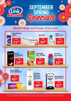 Beauty & Pharmacy offers in the Link Pharmacy catalogue in Cape Town ( 1 day ago )