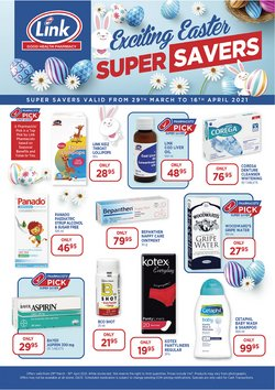 Beauty & Pharmacy offers in the Link Pharmacy catalogue ( 2 days left )