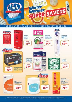 Beauty & Pharmacy offers in the Link Pharmacy catalogue ( 4 days left)