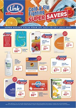 Link Pharmacy offers in the Link Pharmacy catalogue ( Expired)