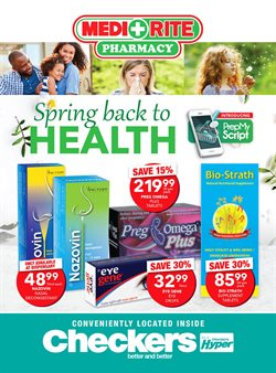 Beauty & Pharmacy offers in the MediRite Pharmacy catalogue in Pretoria