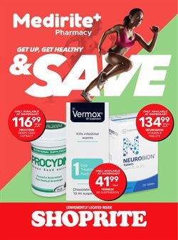 Beauty & Pharmacy offers in the MediRite catalogue in Cape Town