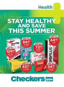 Beauty & Pharmacy offers in the MediRite catalogue in Cape Town ( 1 day ago )
