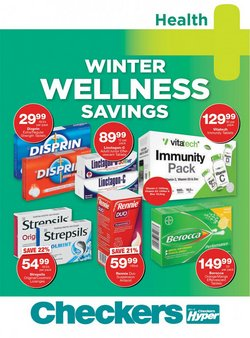 Beauty & Pharmacy offers in the MediRite catalogue ( 8 days left)