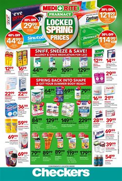 MediRite Pharmacy deals in the Johannesburg special