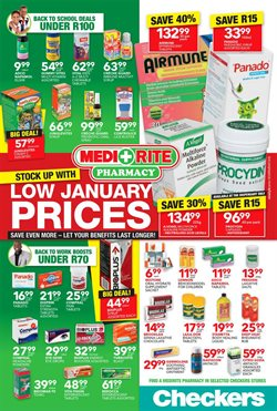 MediRite Pharmacy deals in the Cape Town special