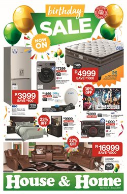 Home & Furniture offers in the House & Home catalogue in Khayelitsha