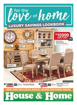 Home & Furniture offers in the House & Home catalogue in Randburg