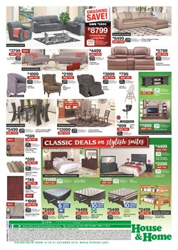 Bedroom offers in the House & Home catalogue in Cape Town