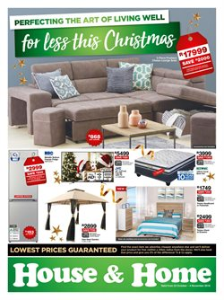 Home & Furniture offers in the House & Home catalogue in Johannesburg